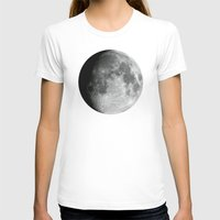 the moon T-shirts featuring Moon by Alejandro de Antonio Fernández