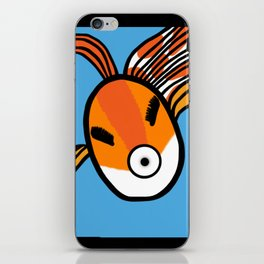 Goldfish Selfie iPhone Skin