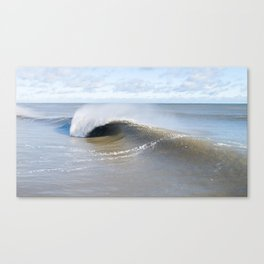 With A View Canvas Print