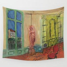 Raoul Dufy L'atelier de la Place Arago Wall Tapestry