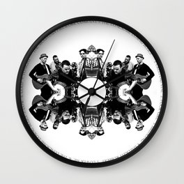 The Lonesome Losing Blues Wall Clock