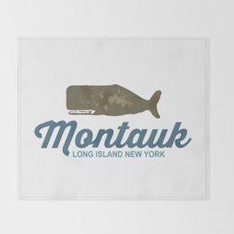 Montauk -Long Island. Throw Blanket