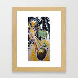 mustard seed Framed Art Print