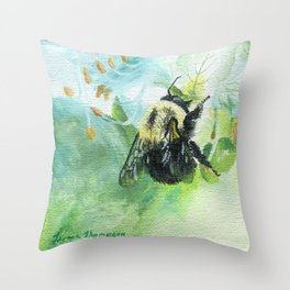 Synchronicity by Teresa Thompson Throw Pillow