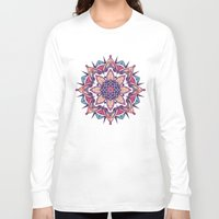 mandala Long Sleeve T-shirts featuring Mandala by Pancho the Macho