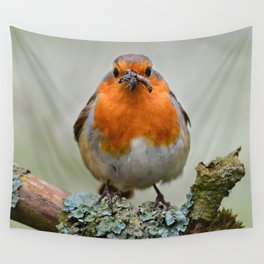 Chubby Robin Wall Tapestry