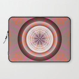 Cosmic Centering Glow Mandala Laptop Sleeve