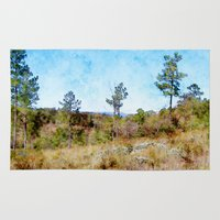 tennessee Area & Throw Rugs featuring Tennessee Wilderness by Phil Perkins