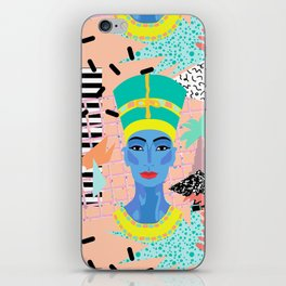 Postmodern Nefertiti iPhone Skin