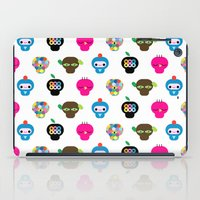 ufo iPad Cases featuring Ufo by Plushedelica