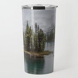 Landscape Maligne Lake Photography | Alberta | Canada Travel Mug