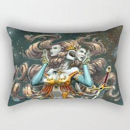 Janus, Goddess of War and Peace Rectangular Pillow