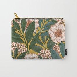 Vintage florals Carry-All Pouch