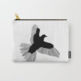 Bird (On White) Carry-All Pouch
