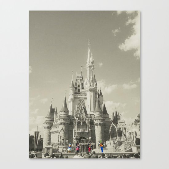 Walt Disney World Canvas Print