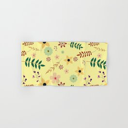 Nice and beautiful floral pattern  Hand & Bath Towel