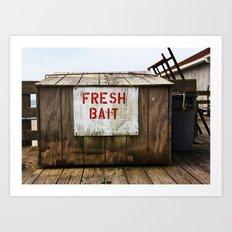 Fresh Bait Art Print