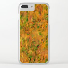 Autumnal Tints #2 Tapestry Astronomy Print Science Art Wall Art Clear iPhone Case