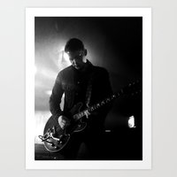 arctic monkeys Art Prints featuring jamie cook // arctic monkeys by Hattie Trott