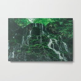 Starley Burn Waterfall Metal Print