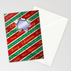 Ripped Christmas Wrapping Stationery Cards