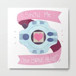 Brave Heart Metal Print
