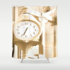Time is of the Essence  Shower Curtain