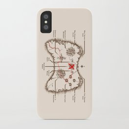 Controller Map iPhone Case
