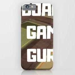 BOARD GAME GURU iPhone Case