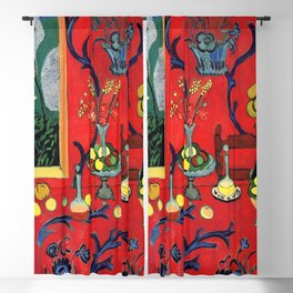 Henri Matisse Harmony in Red Blackout Curtain