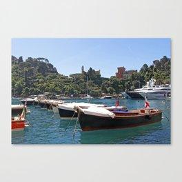 Boats - Portofino Canvas Print