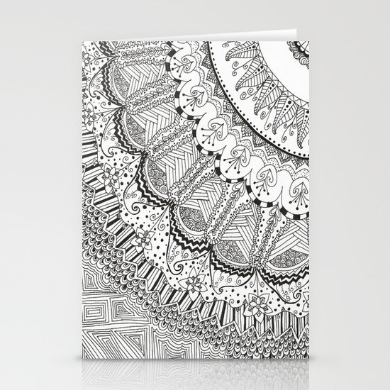 Doodle Madness Stationery Cards
