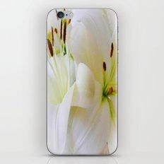 White Lilies iPhone & iPod Skin