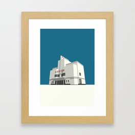 ODEON Balham Framed Art Print