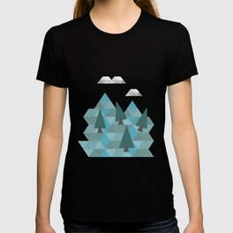 Low poly land T-shirt