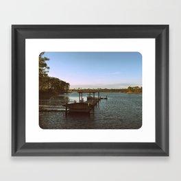 Southern Living - Watercolor, Florida (B&W) Framed Art Print