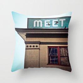 Meet The Producers Throw Pillow