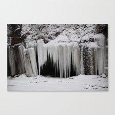 Snow Cave Canvas Print