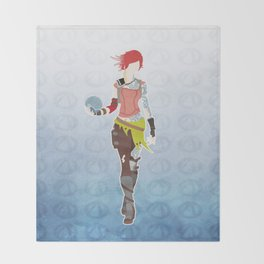 Borderlands 2 - Lilith Throw Blanket