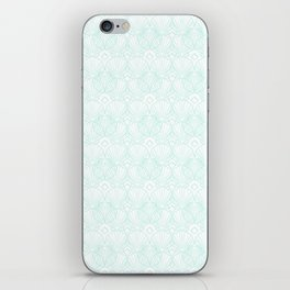 Miami Beach Motel- Mint iPhone Skin