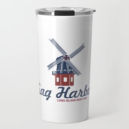 Sag Harbor - Long Island. Travel Mug