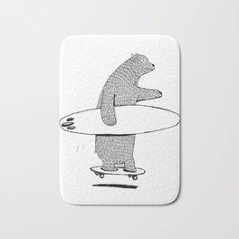 Going Surfing Bath Mat