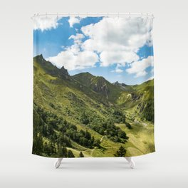 Breathing Shower Curtain