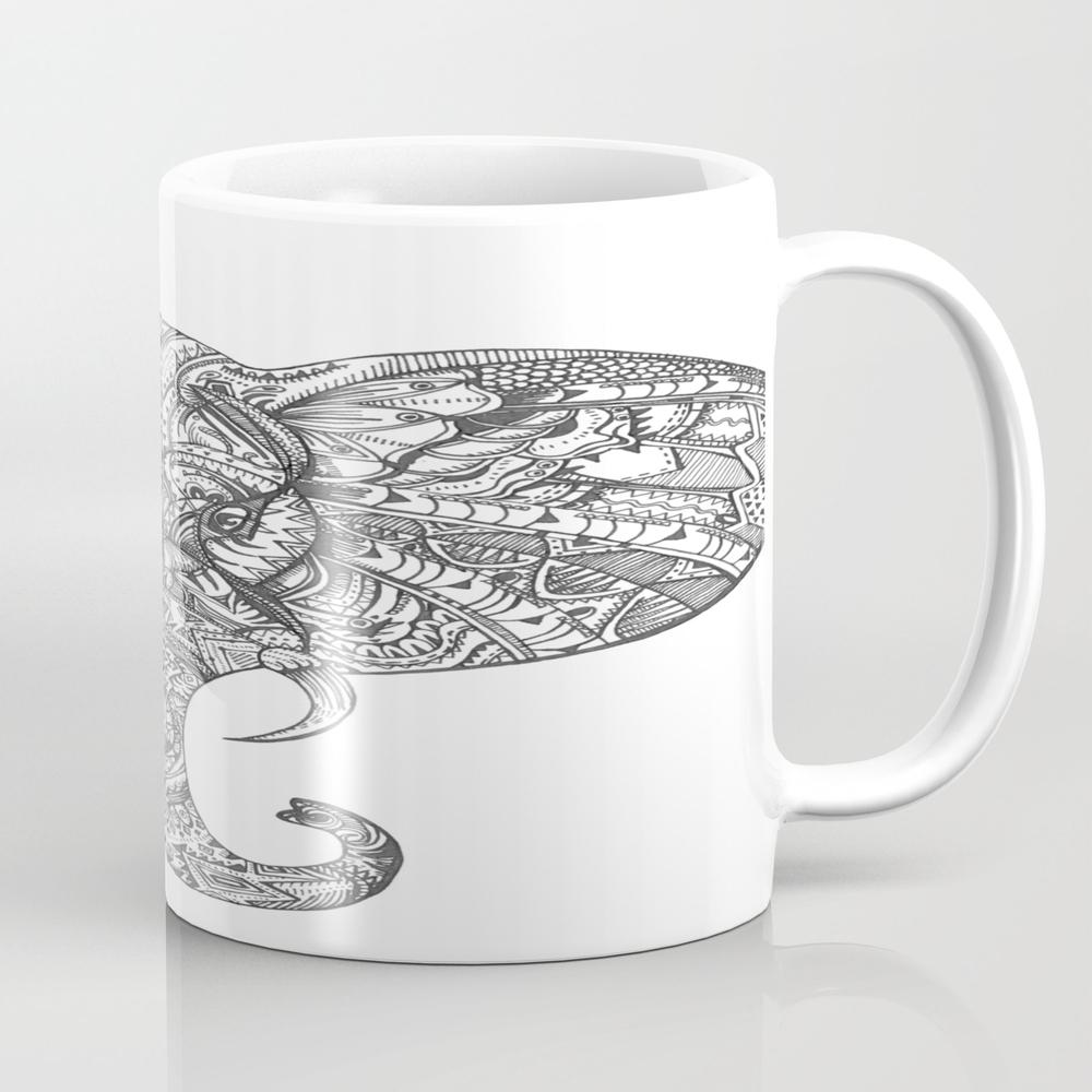 Ella The Elephant Mug by Kellyprimack MUG8792434
