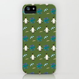 Beach Adventures Of The Feathered Kind iPhone Case