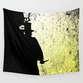 Jack The Ripper Grunge Wall Tapestry