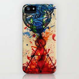 abstract alchemy iPhone Case
