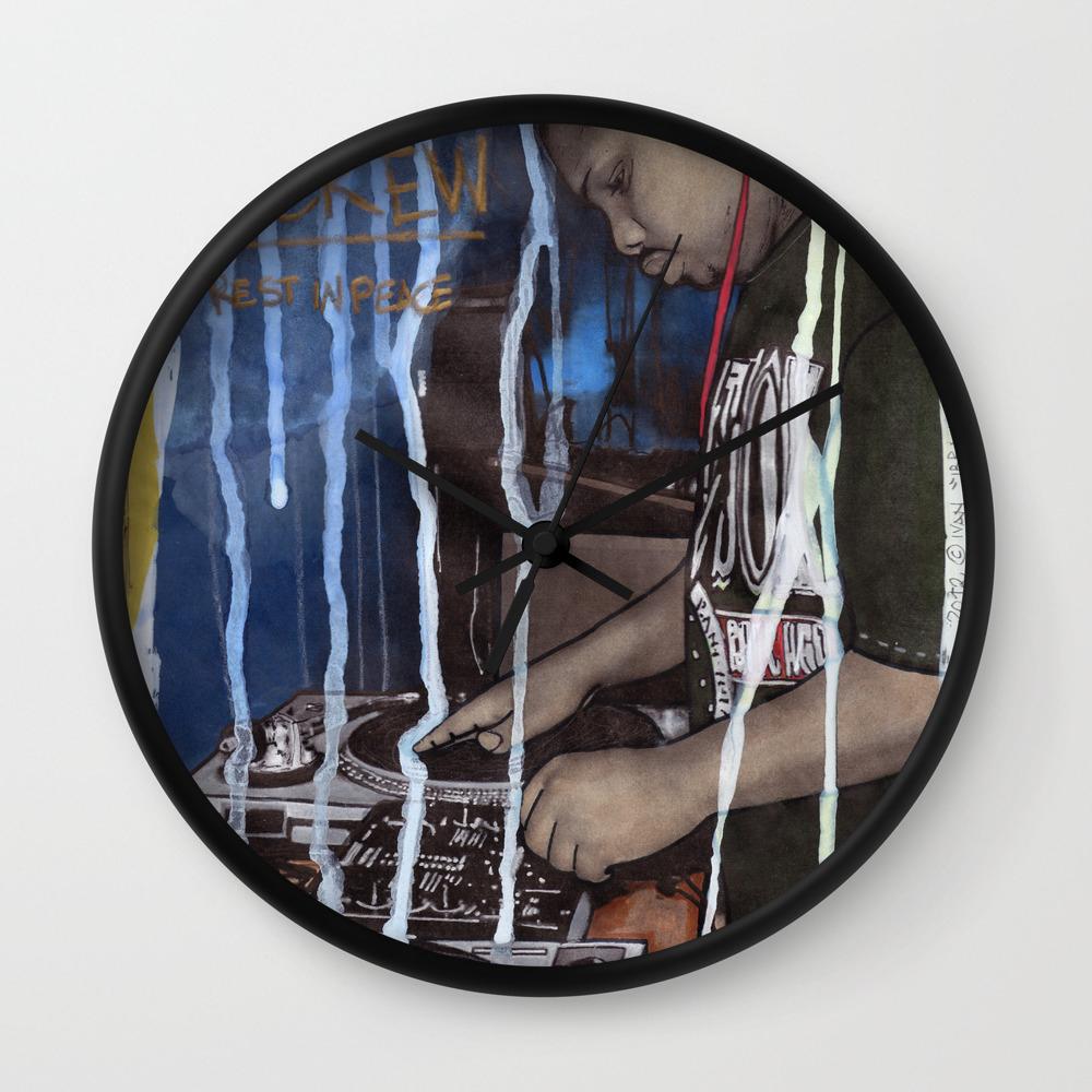 DEAD RAPPERS SERIES - Dj Screw Wall Clock