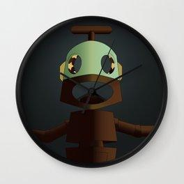 Nono the robot (reloaded) Wall Clock