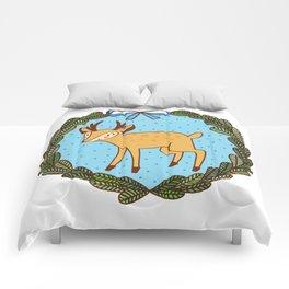 Baby deer Comforters